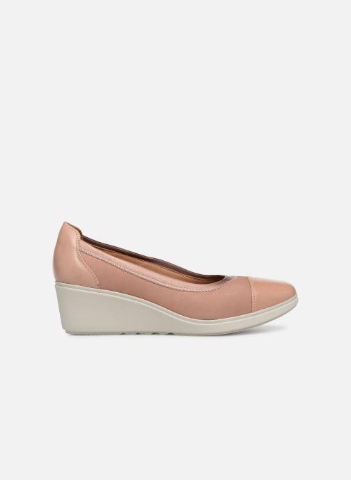 Zapatos de tacón Clarks Unstructured UN TALLARA LIZ Rosa vistra trasera