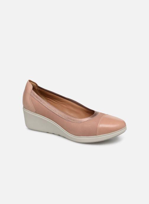 Zapatos de tacón Clarks Unstructured UN TALLARA LIZ Rosa vista de detalle / par
