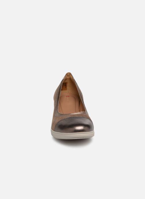 Escarpins Clarks Unstructured UN TALLARA LIZ Gris vue portées chaussures
