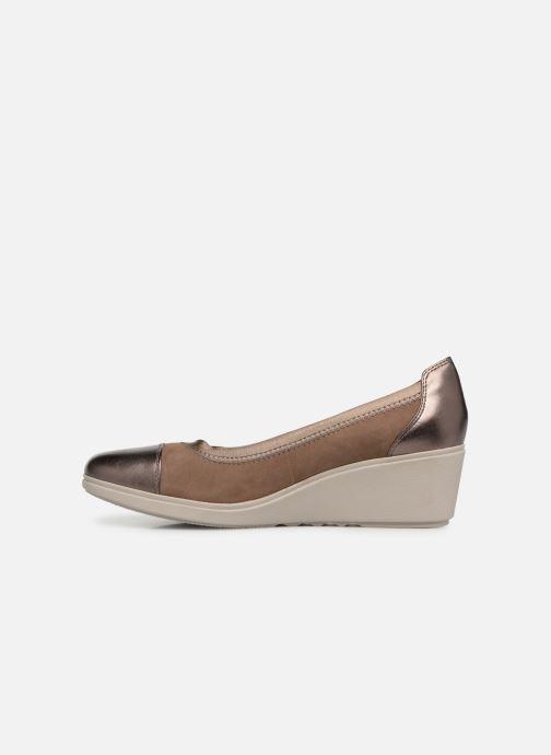 High heels Clarks Unstructured UN TALLARA LIZ Grey front view