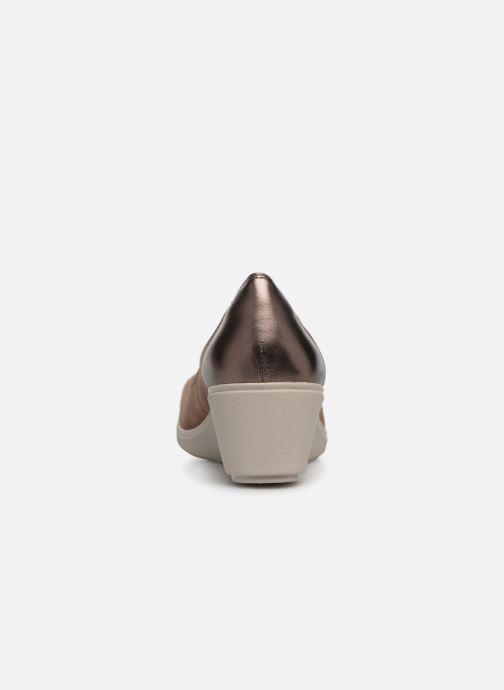 High heels Clarks Unstructured UN TALLARA LIZ Grey view from the right