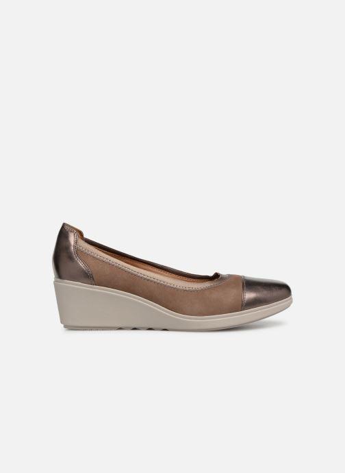 High heels Clarks Unstructured UN TALLARA LIZ Grey back view