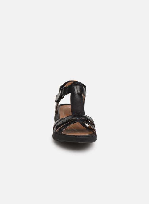 Sandalen Clarks Unstructured UN ADORN VIBE Zwart model
