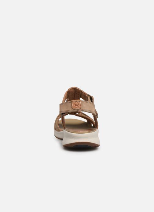 Sandales et nu-pieds Clarks Unstructured UN ADORN VIBE Beige vue droite