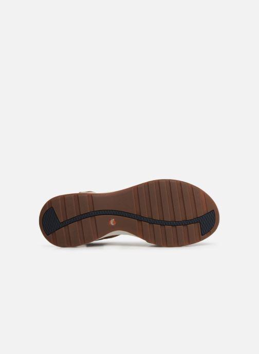 Sandales et nu-pieds Clarks Unstructured UN ADORN VIBE Beige vue haut
