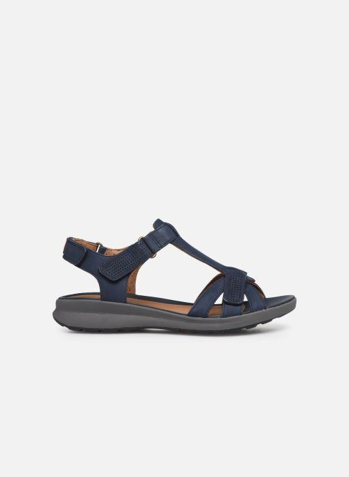 Sandales et nu-pieds Clarks Unstructured UN ADORN VIBE Bleu vue derrière