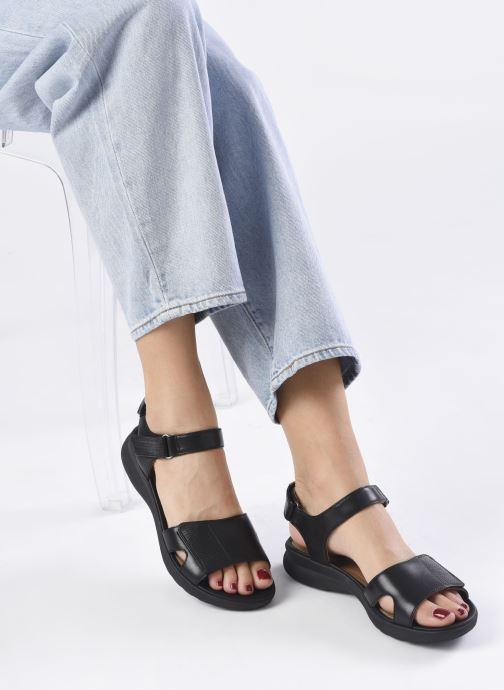 Sandali e scarpe aperte Clarks Unstructured UN ADORN CALM Nero immagine dal basso