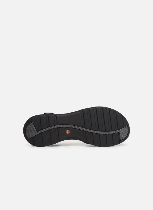 Sandales et nu-pieds Clarks Unstructured UN ADORN CALM Noir vue haut