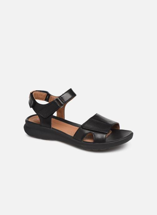 Sandales et nu-pieds Clarks Unstructured UN ADORN CALM Noir vue détail/paire