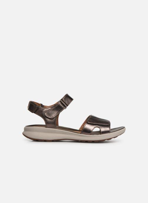 Sandales et nu-pieds Clarks Unstructured UN ADORN CALM Or et bronze vue derrière