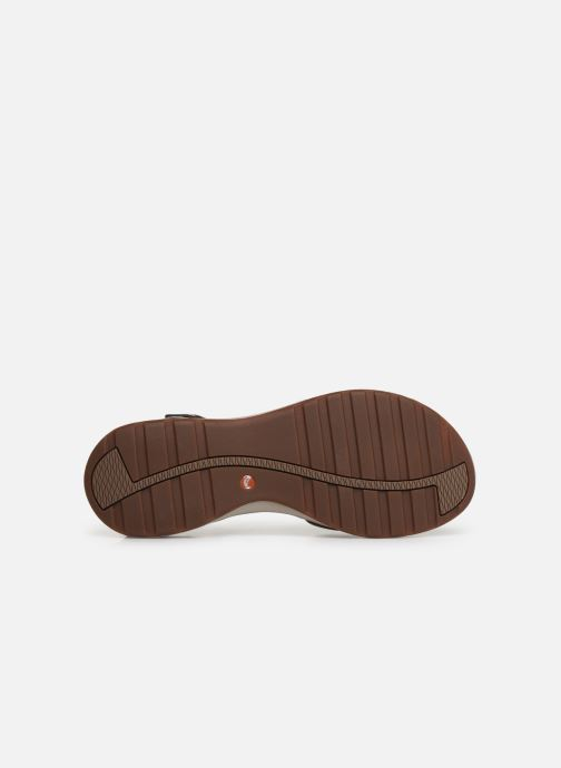 Sandales et nu-pieds Clarks Unstructured UN ADORN CALM Or et bronze vue haut