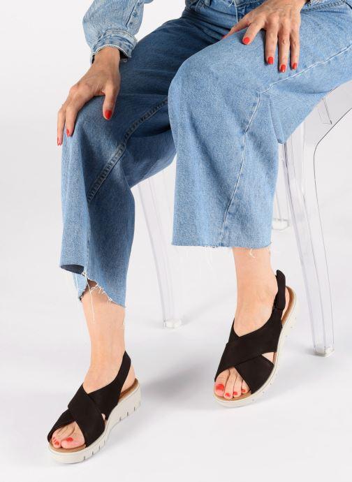 Sandali e scarpe aperte Clarks Unstructured UN KARELY SUN Nero immagine dal basso