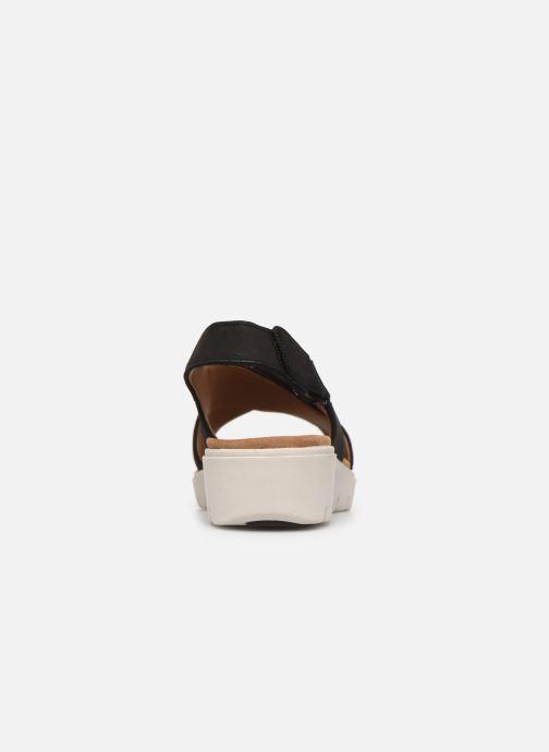 Sandales et nu-pieds Clarks Unstructured UN KARELY SUN Noir vue droite