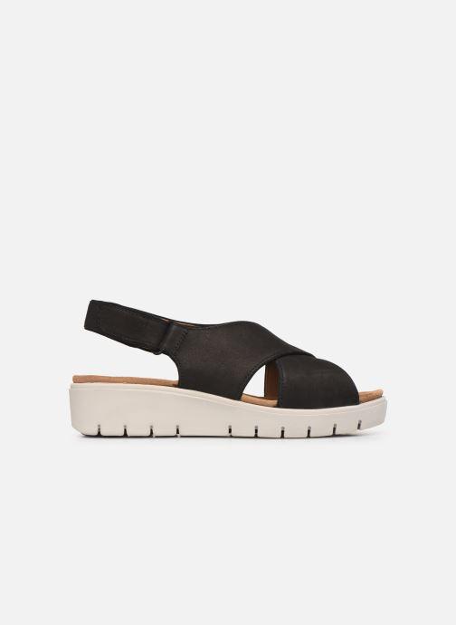 Sandales et nu-pieds Clarks Unstructured UN KARELY SUN Noir vue derrière