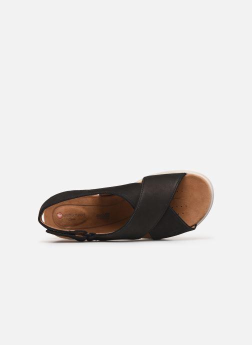 Sandali e scarpe aperte Clarks Unstructured UN KARELY SUN Nero immagine sinistra