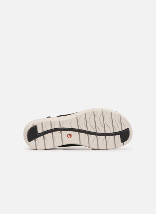 Sandales et nu-pieds Clarks Unstructured UN KARELY SUN Noir vue haut