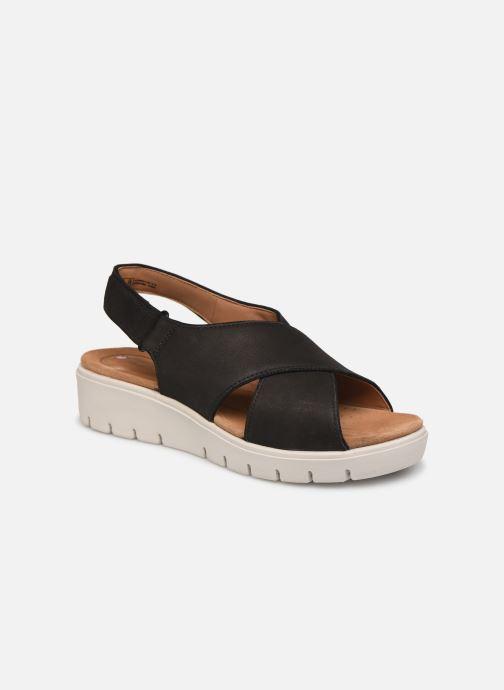 Sandales et nu-pieds Clarks Unstructured UN KARELY SUN Noir vue détail/paire
