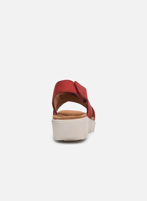 Sandales et nu-pieds Clarks Unstructured UN KARELY SUN Rouge vue droite