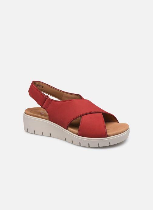 Sandales et nu-pieds Clarks Unstructured UN KARELY SUN Rouge vue détail/paire