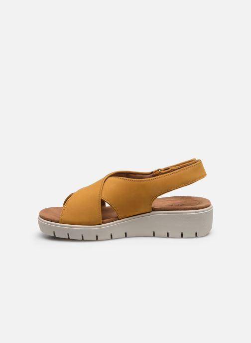 Sandali e scarpe aperte Clarks Unstructured UN KARELY SUN Giallo immagine frontale