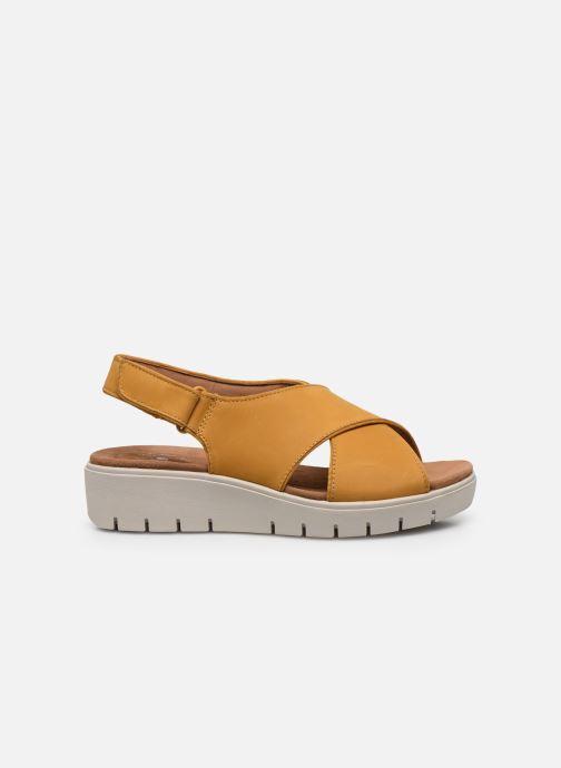 Sandali e scarpe aperte Clarks Unstructured UN KARELY SUN Giallo immagine posteriore