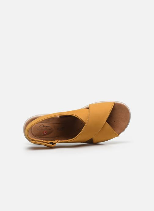 Sandali e scarpe aperte Clarks Unstructured UN KARELY SUN Giallo immagine sinistra