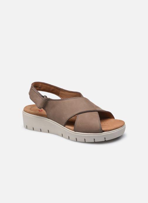 Sandales et nu-pieds Clarks Unstructured UN KARELY SUN Marron vue détail/paire