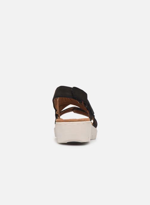 Sandales et nu-pieds Clarks Unstructured UN KARELY DEW Noir vue droite