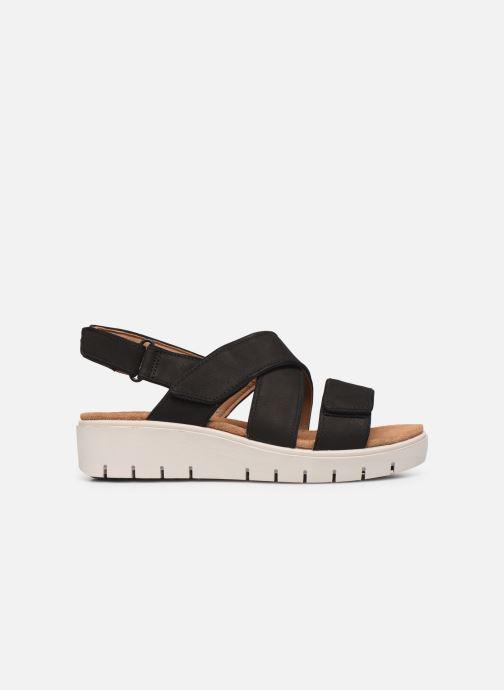 Sandales et nu-pieds Clarks Unstructured UN KARELY DEW Noir vue derrière
