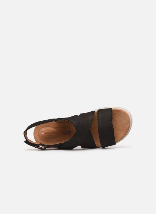 Sandales et nu-pieds Clarks Unstructured UN KARELY DEW Noir vue gauche