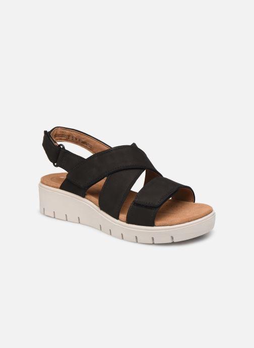 Sandales et nu-pieds Clarks Unstructured UN KARELY DEW Noir vue détail/paire