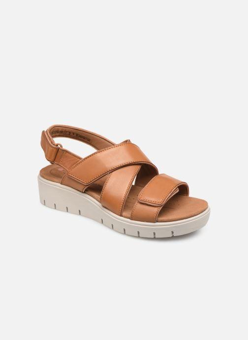 Sandales et nu-pieds Clarks Unstructured UN KARELY DEW Marron vue détail/paire