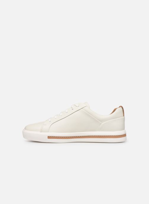 Sneakers Clarks Unstructured UN MAUI LACE Bianco immagine frontale