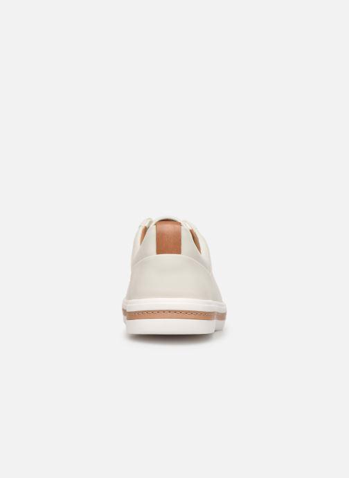 Sneakers Clarks Unstructured UN MAUI LACE Bianco immagine destra