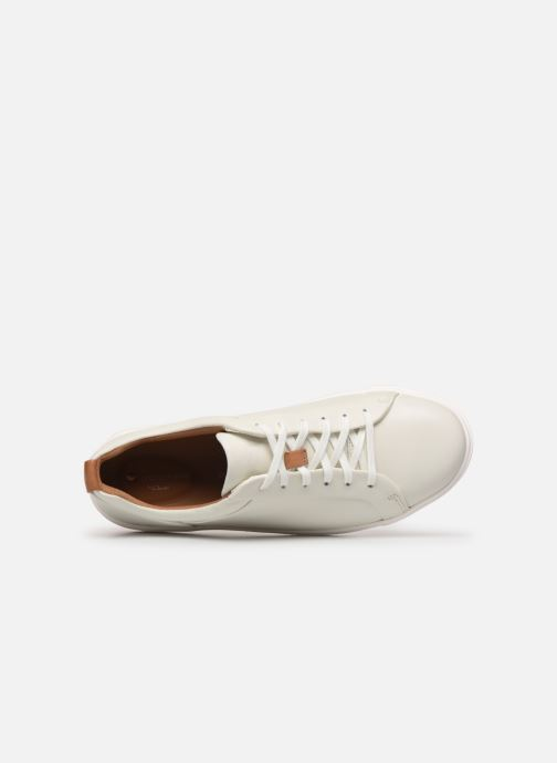 Sneakers Clarks Unstructured UN MAUI LACE Bianco immagine sinistra