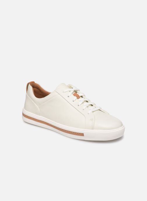 56df82935327 Trainers Clarks Unstructured UN MAUI LACE White detailed view  Pair view