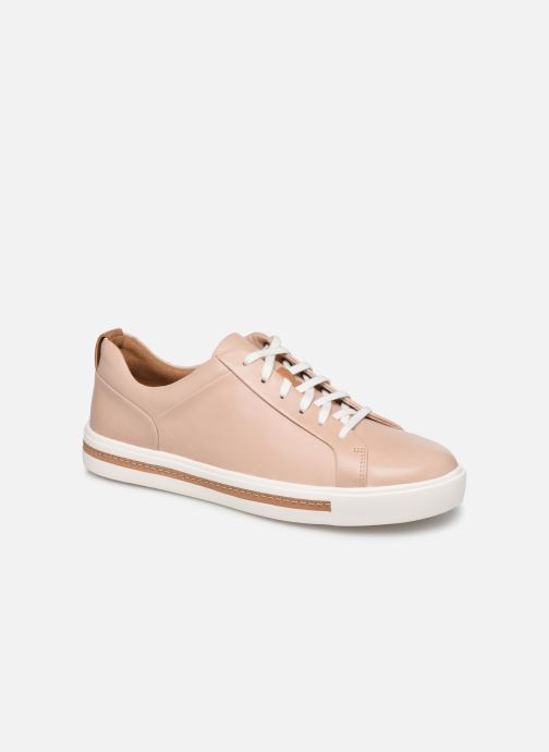Baskets Clarks Unstructured UN MAUI LACE Rose vue détail/paire