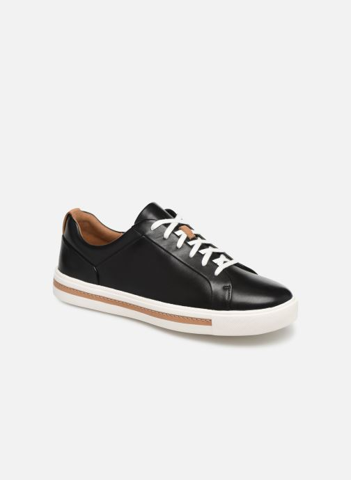 Sneakers Clarks Unstructured UN MAUI LACE Sort detaljeret billede af skoene