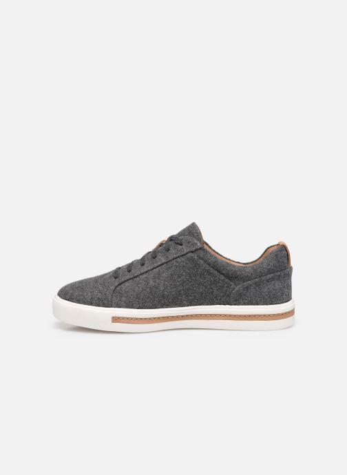 Sneaker Clarks Unstructured UN MAUI LACE grau ansicht von vorne