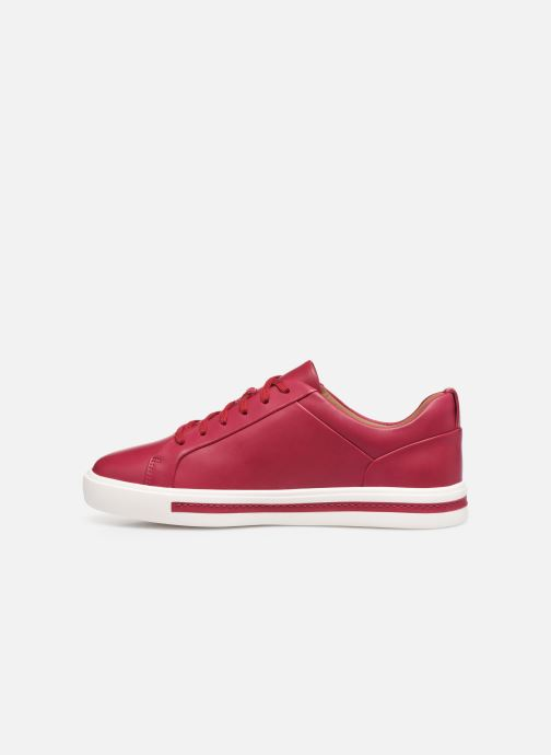 Sneakers Clarks Unstructured UN MAUI LACE Rosso immagine frontale