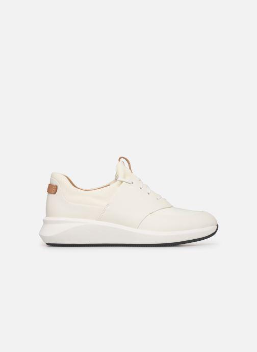 Sneakers Clarks Unstructured UN RIO LACE Wit achterkant