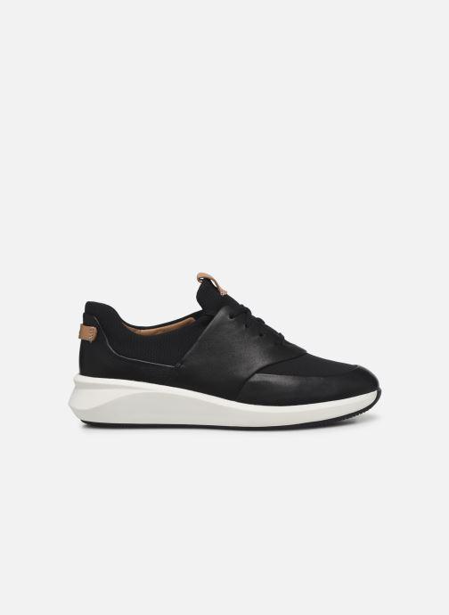 Sneaker Clarks Unstructured UN RIO LACE schwarz ansicht von hinten