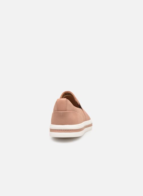 Baskets Clarks Unstructured UN MAUI STEP Rose vue droite