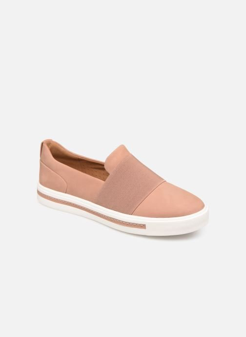 Baskets Clarks Unstructured UN MAUI STEP Rose vue détail/paire