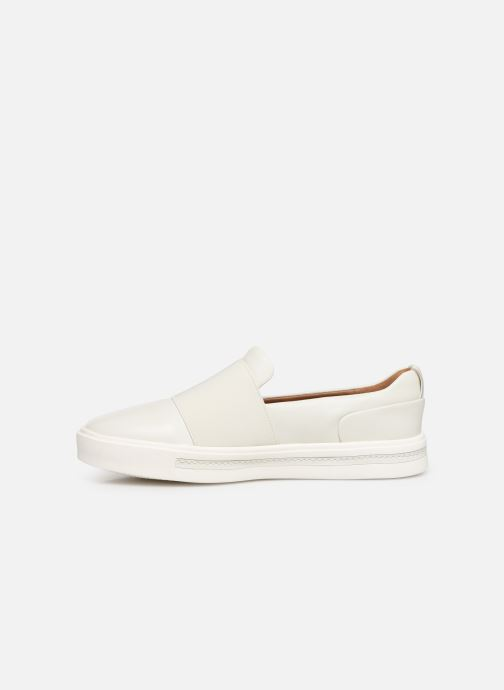 Sneakers Clarks Unstructured UN MAUI STEP Bianco immagine frontale