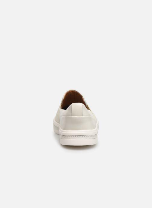Sneakers Clarks Unstructured UN MAUI STEP Bianco immagine destra