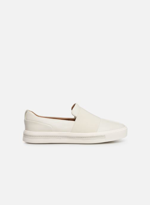 Trainers Clarks Unstructured UN MAUI STEP White back view