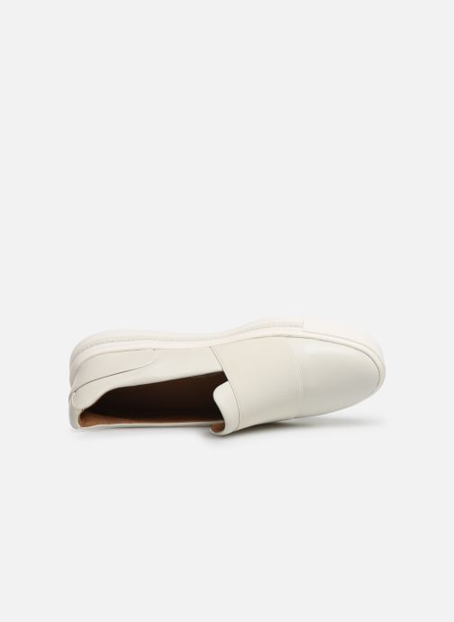 Sneakers Clarks Unstructured UN MAUI STEP Bianco immagine sinistra