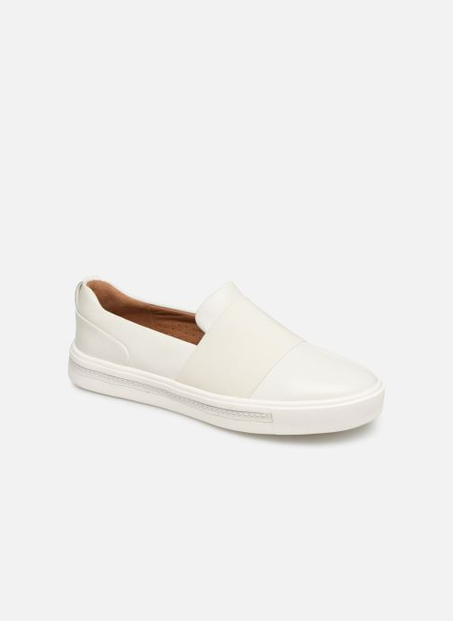 Trainers Clarks Unstructured UN MAUI STEP White detailed view/ Pair view
