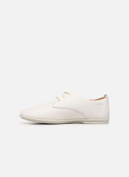 Chaussures à lacets Clarks Unstructured UN CORAI LACE Blanc vue face
